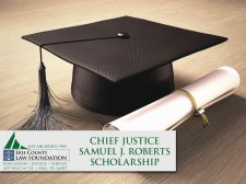 Roberts Scholarship Applications Due May 31!