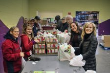 In-House Counsel Division Leadership Volunteers at Second Harvest Food Bank