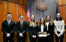 Congratulations, Northwestern High School Mock Trial Team!